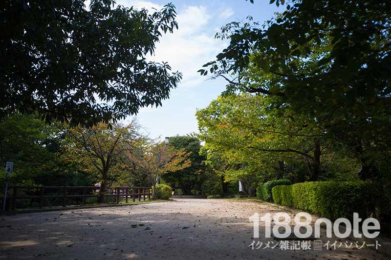 江波山公園風景