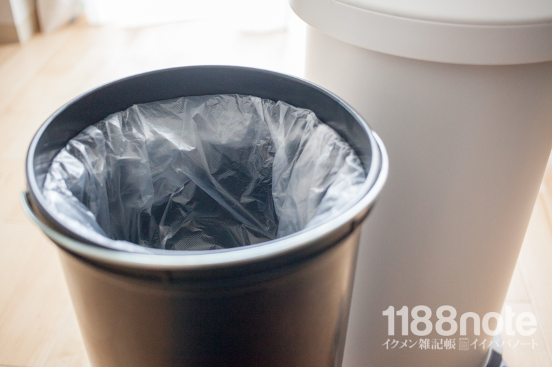 無臭ゴミ箱ムッシュの正しい使用方法
