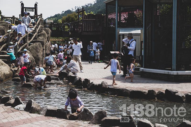 安佐動物公園水遊び