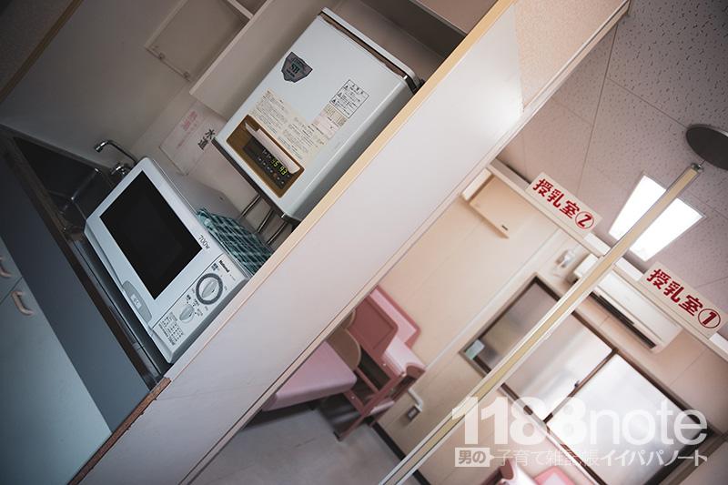 安佐動物公園の授乳室