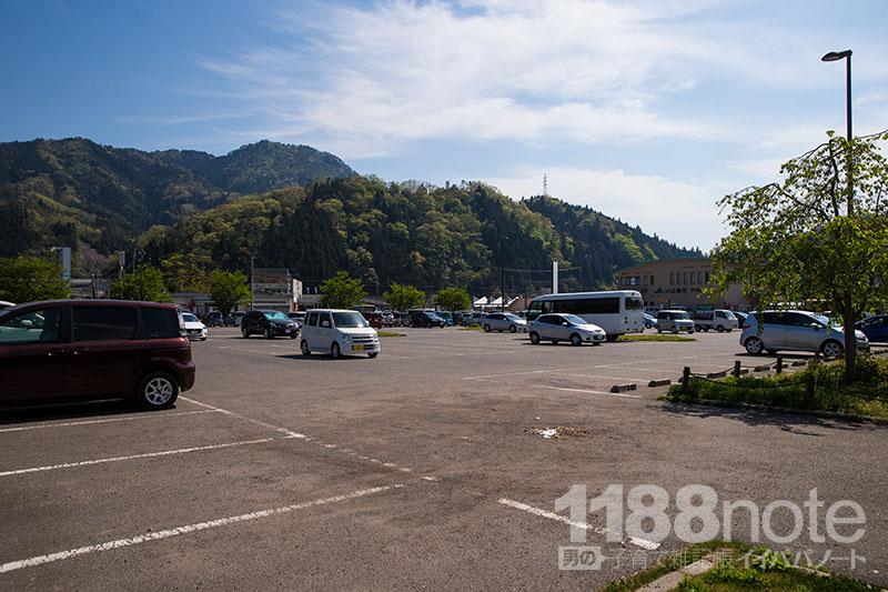 道の駅 来夢とごうち 駐車場