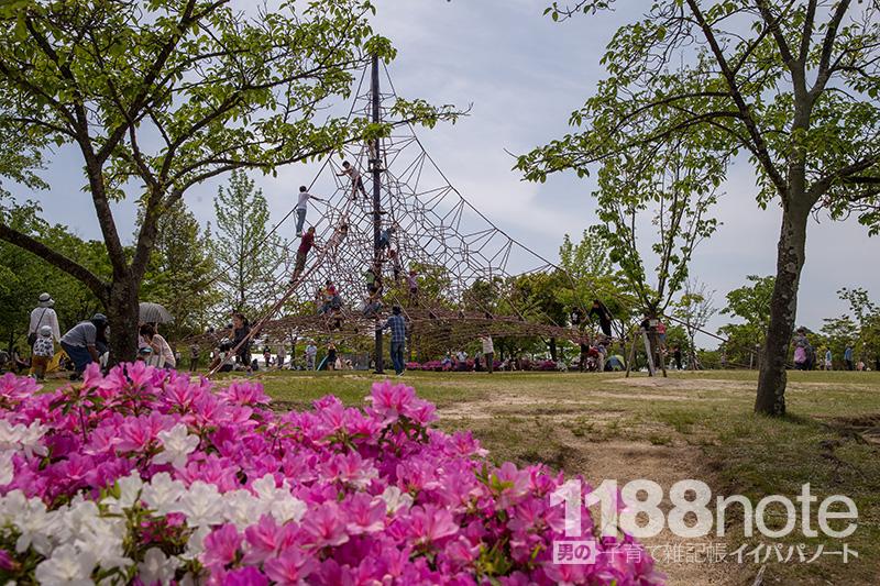 広島市森林公園の遊具