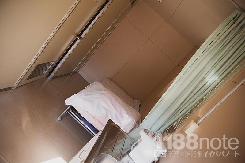 広島市植物公園のベビールーム・授乳室の様子