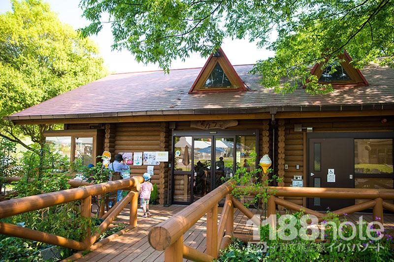 広島市植物公園のカフェ