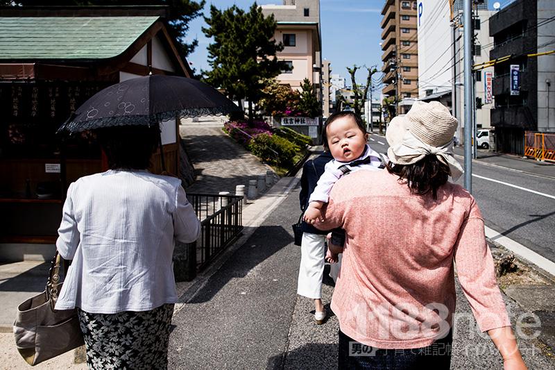 広島市住吉神社のお宮参り