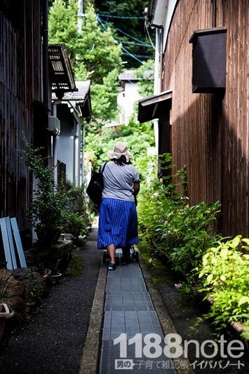 竹原の路地