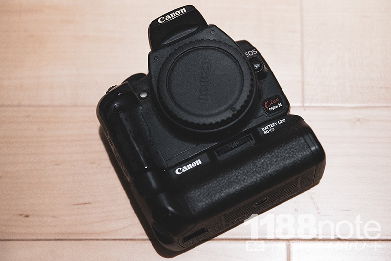 Canon EOS kiss Digital N