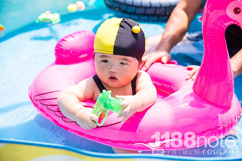 0歳児のプール