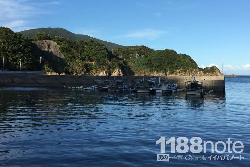 山口県熊毛郡上関町の漁港