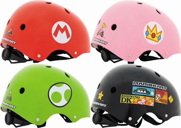 マリオカートのヘルメット
