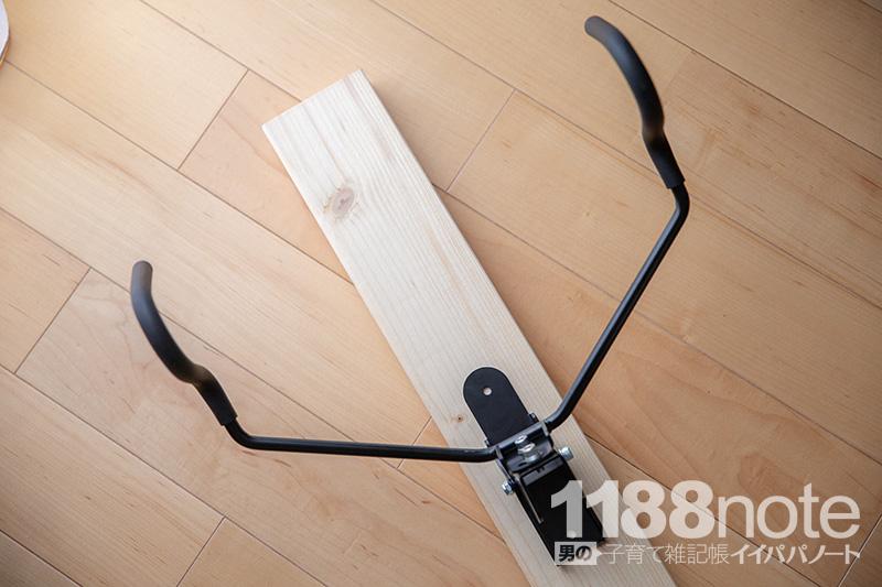 MINOURA(ミノウラ) バイクハンガー4Rを2x4(ツーバイフォー)材に固定する