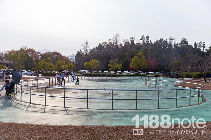 広島市安芸区瀬野川公園のローラースケート場
