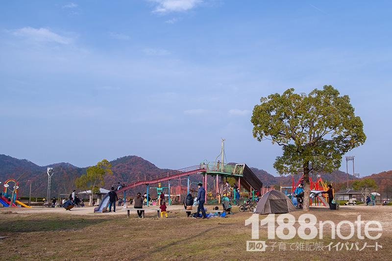 広島市安芸区瀬野川公園の様子