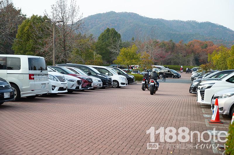 広島市安芸区瀬野川公園の駐車場