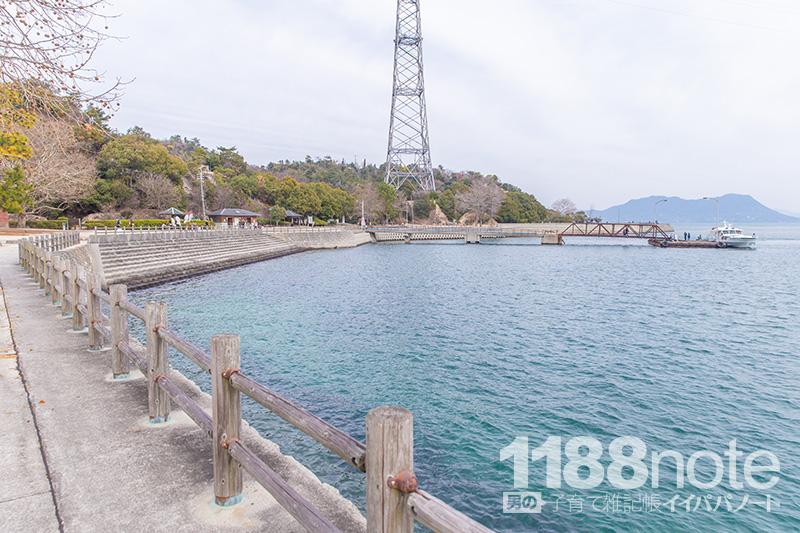 大久野島第1桟橋